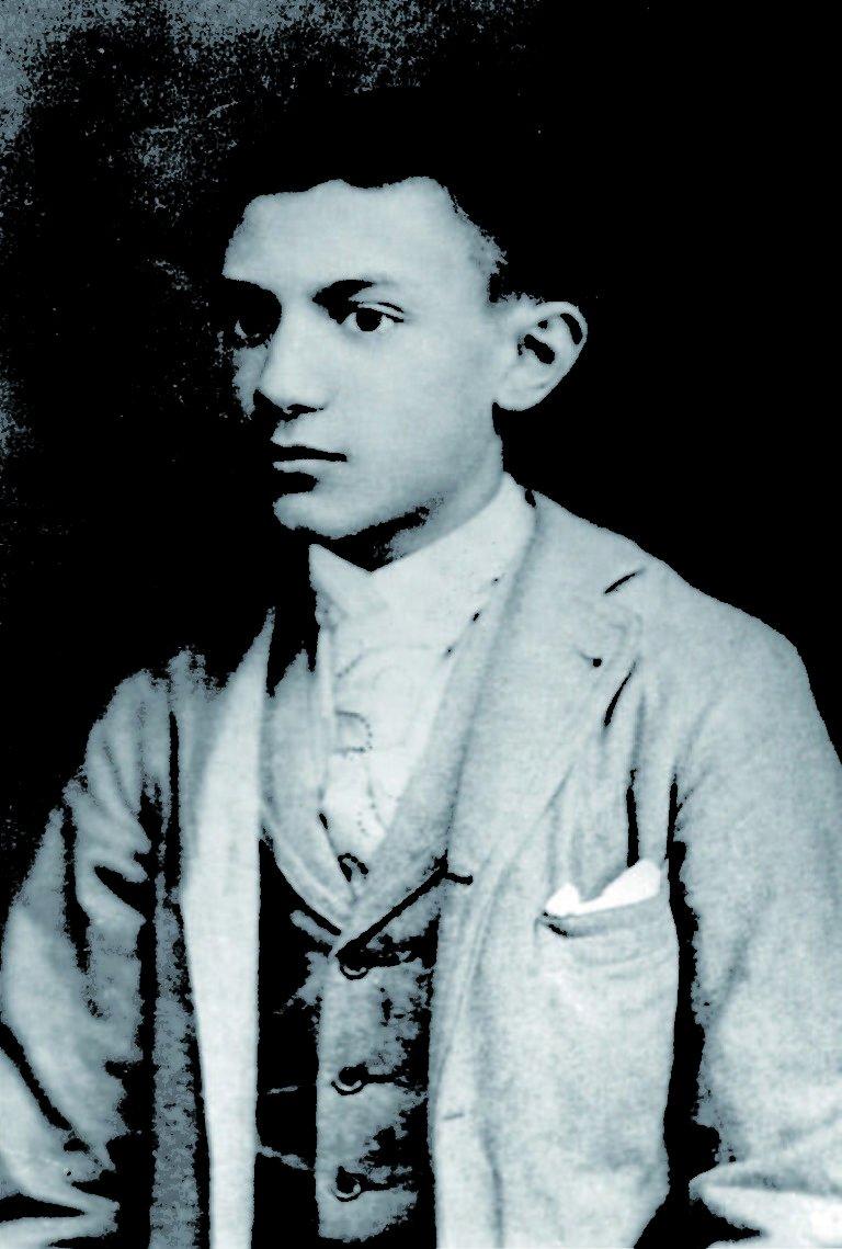 Picasso con 15 años. Cedida por Fundación Picasso Casa Natal Málaga