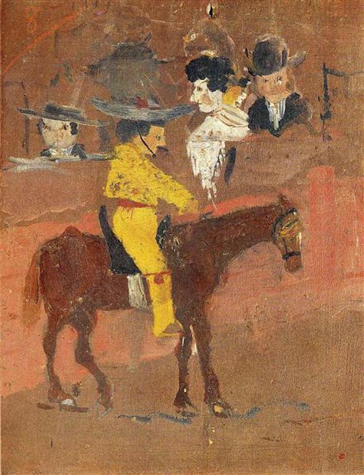 La primera pintura que se conserva de Picasso