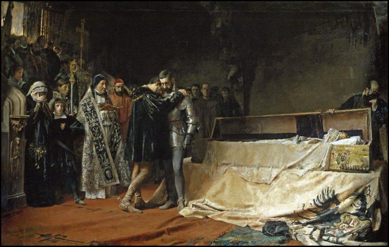 La conversión del duque de Gandía, 1884, Museo del Prado. periodos picasso
