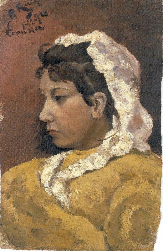 Retrato de Lola. La Coruña, picasso primeras obras