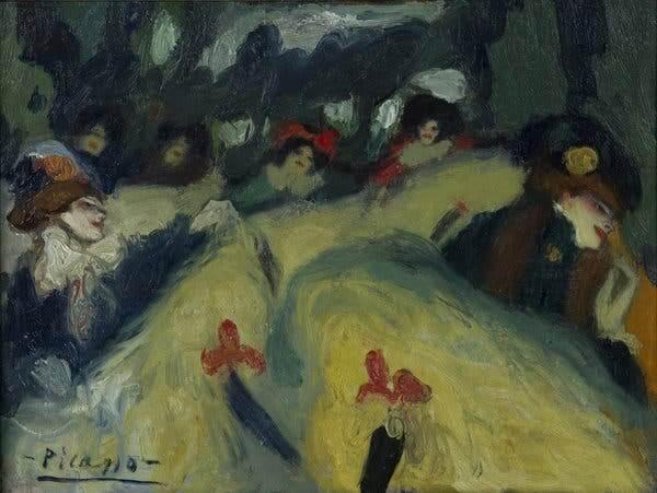 Picasso periodo Cabaret 60