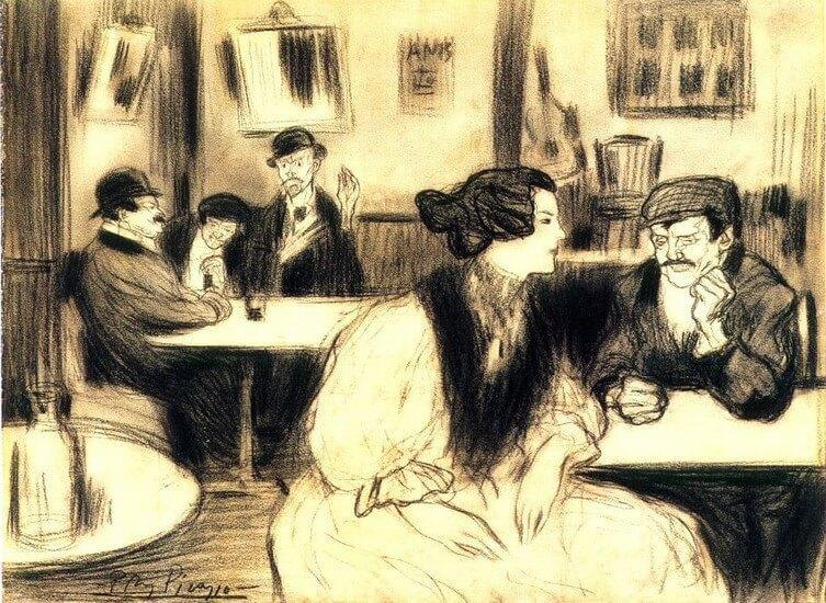 Picasso periodo Cabaret 27