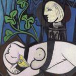 """Picasso, """"Desnudo, hojas verdes y busto"""", 1932."""