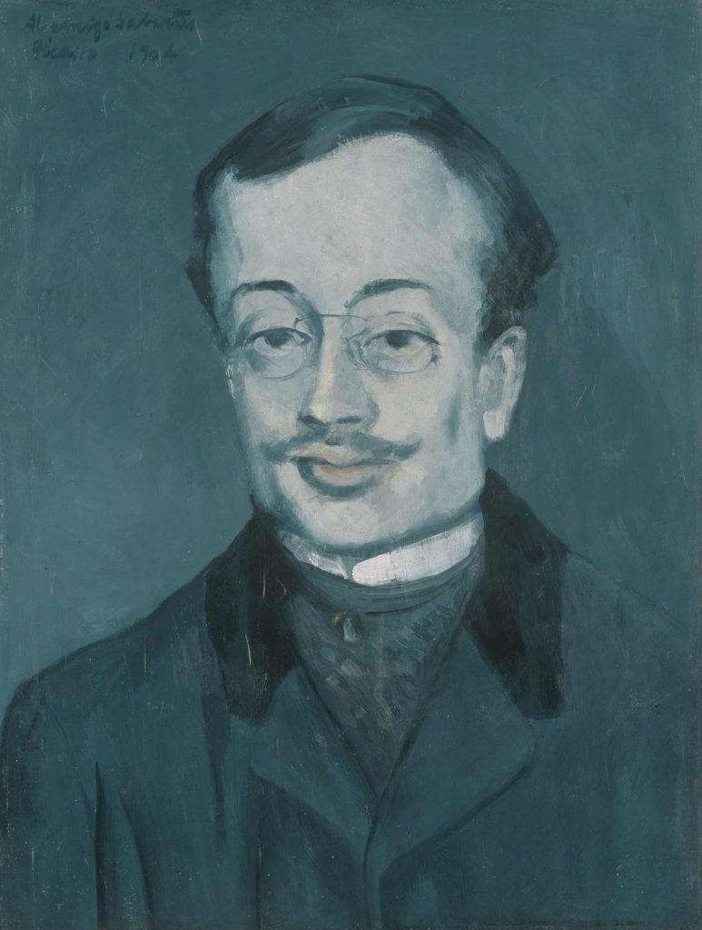 Picasso, Retrato de Sabartés, 1904.