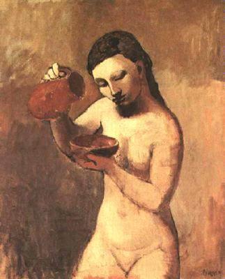 Picasso, Desnudo, 1906.