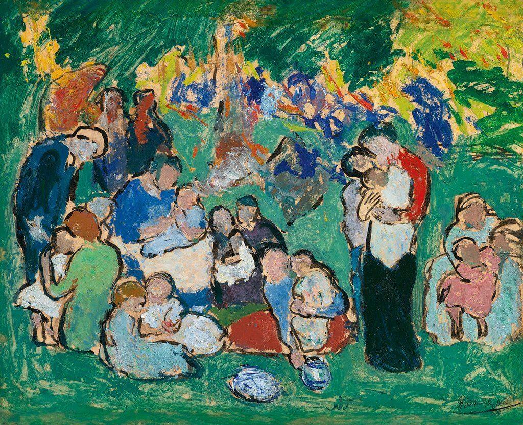 Picasso periodo Cabaret 59