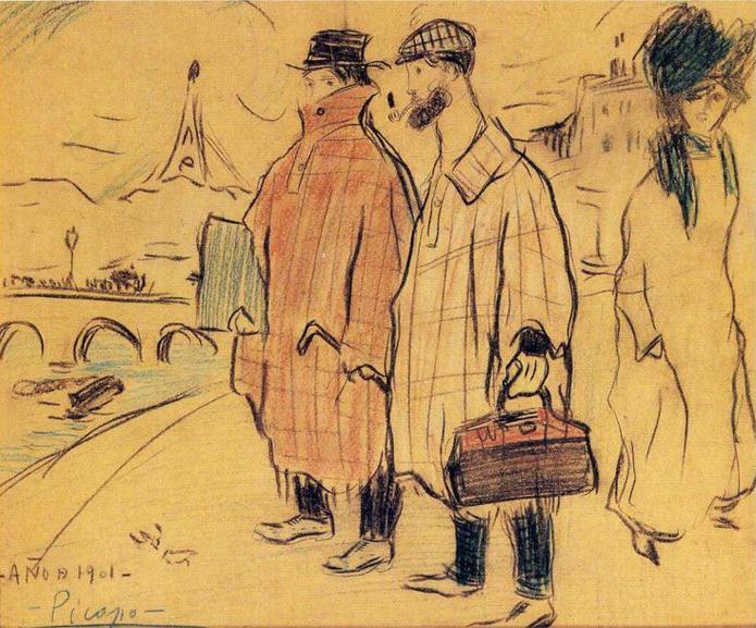 Picasso periodo Cabaret 18