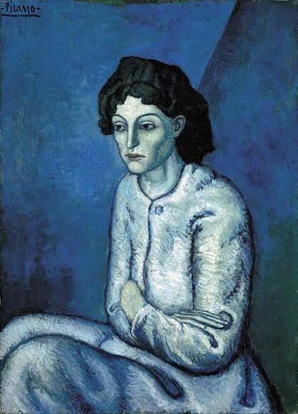 Periodo azul de Picasso 20