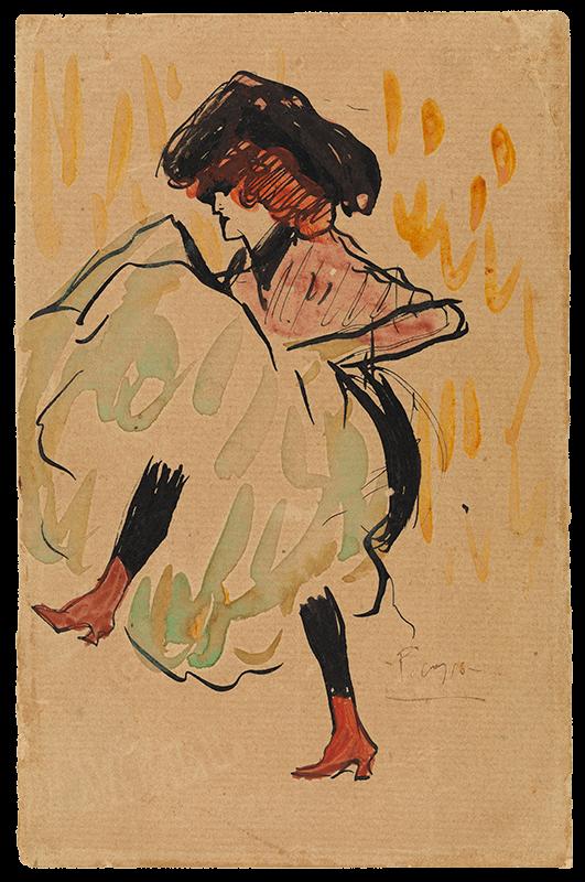Picasso periodo Cabaret 40