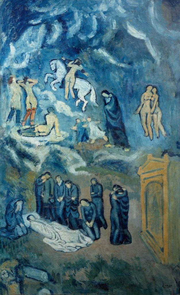 Periodo azul de Picasso, Evocación, 1901.