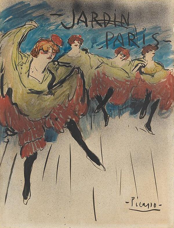Picasso periodo Cabaret 46