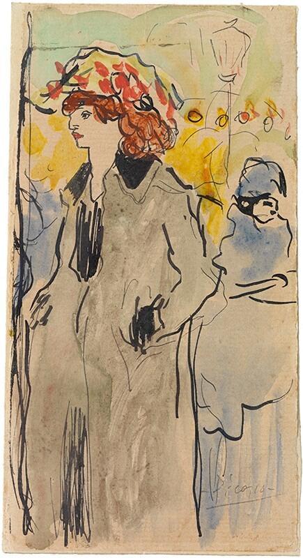 Picasso periodo Cabaret 56