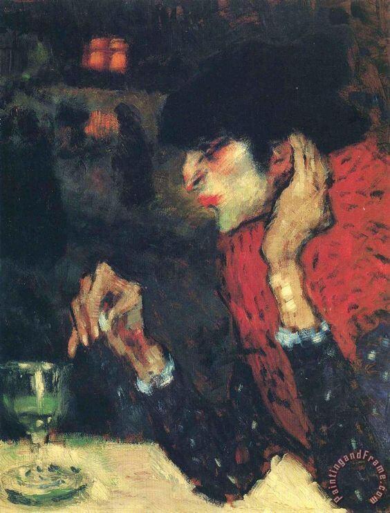 Picasso periodo Cabaret 48