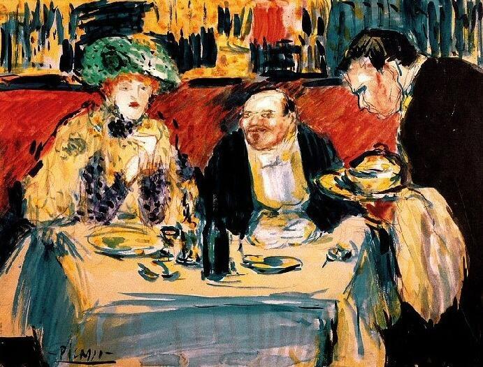 Picasso periodo Cabaret 36