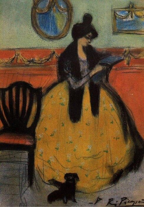 Picasso periodo Cabaret 38