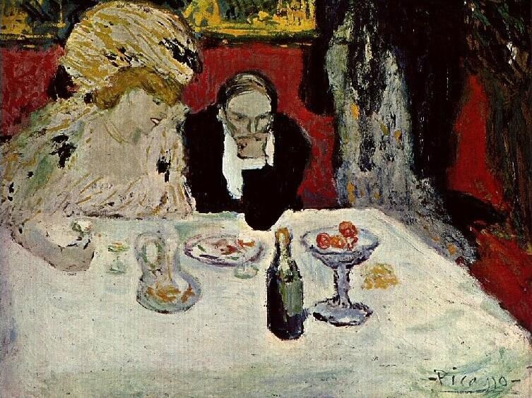 Picasso periodo Cabaret 37