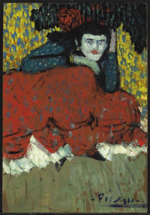 Picasso periodo Cabaret 68