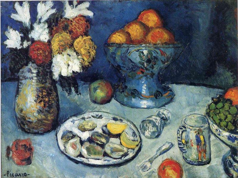 Periodo azul de Picasso 10