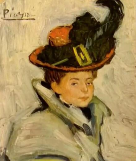 Picasso periodo Cabaret 25