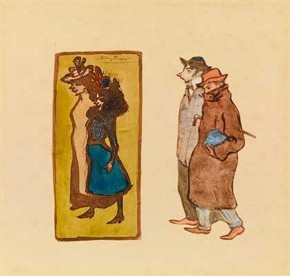 Picasso periodo Cabaret 10