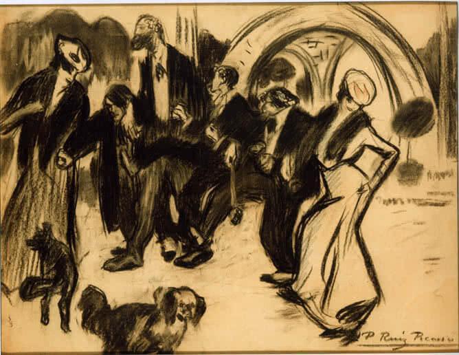 Picasso periodo Cabaret 12