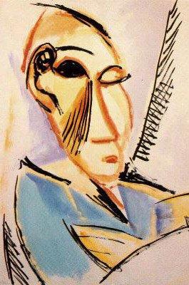 Picasso, Estudios para Las señoritas de Avignon, 1907.