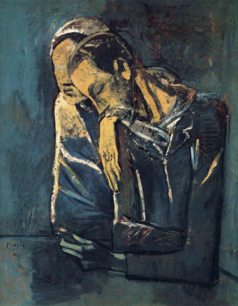 Picasso, La pareja, 1904.