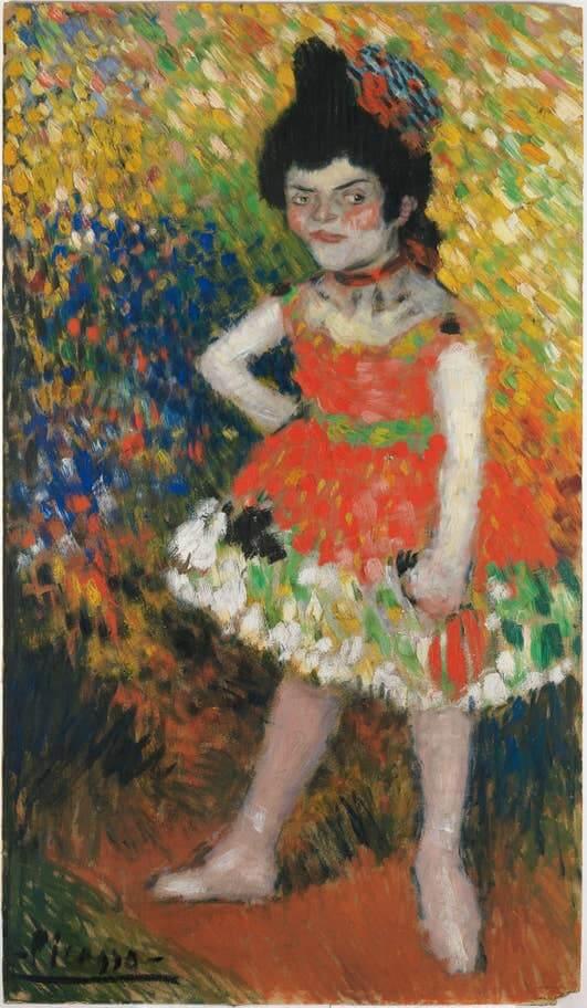 Picasso periodo Cabaret 58