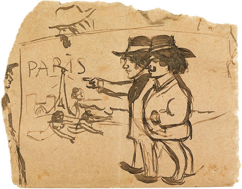 Picasso periodo Cabaret 4