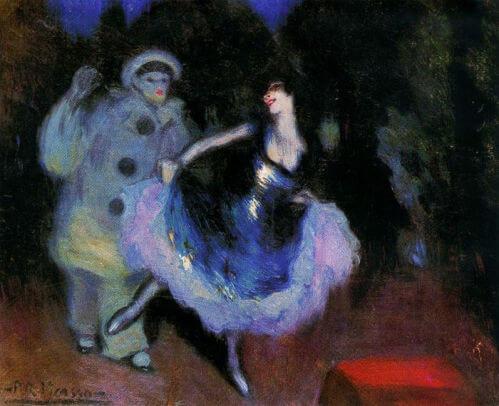 Picasso periodo Cabaret 62
