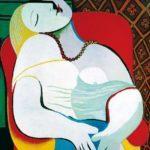 """Picasso, """"El sueño"""", 1932."""