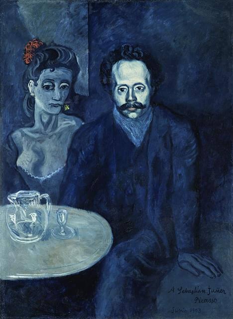 Picasso, Retrato de Sebastián Juñer Vidal, Junio, 1903.