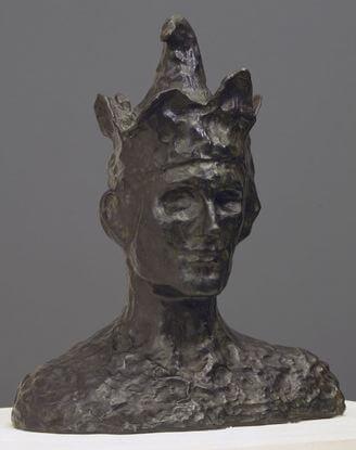 Picasso, El bufón (bronce), 1905.