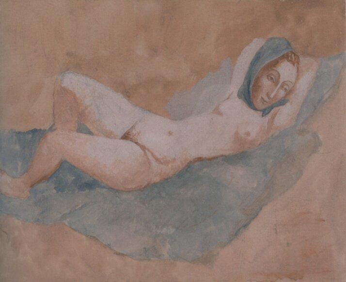 Época Rosa Periodo Rosa de Pablo Picasso Desnudo de Fernande, 1906.