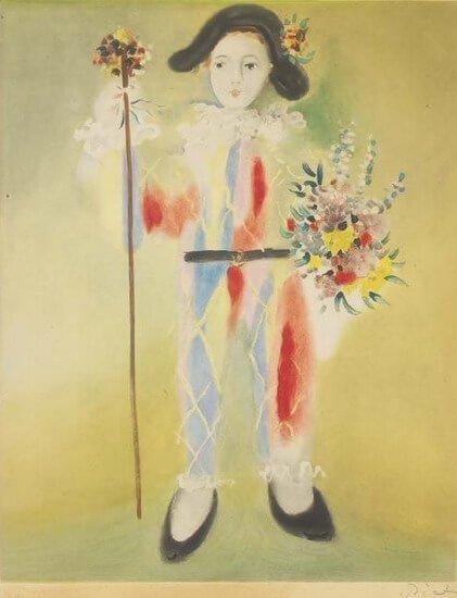 Época Rosa Picasso, Arlequín, 1905.