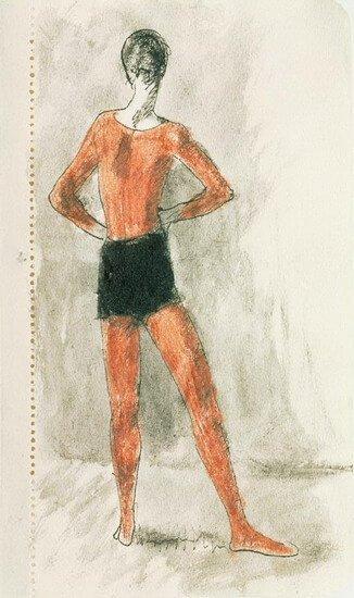 Picasso, Muchacho en pantalones negros, 1905.