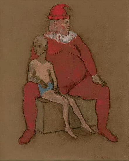 Periodo Rosa de Picasso 73