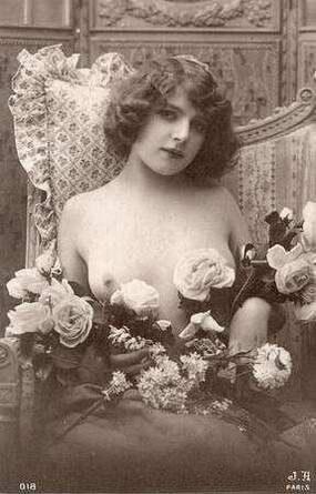 Fernande Olivier posando como modelo.