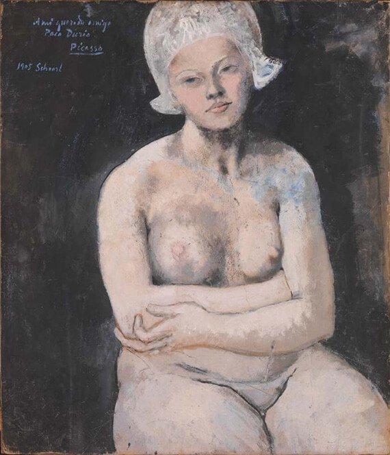 Picasso, La bella holandesa, 1905.
