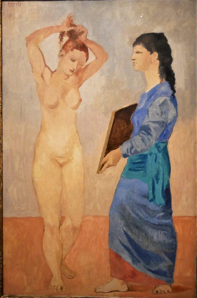 Época Rosa Picasso, La toilette, 1906.