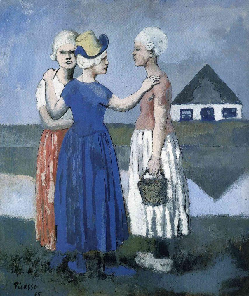 Picasso, Las tres holandesas, 1905.
