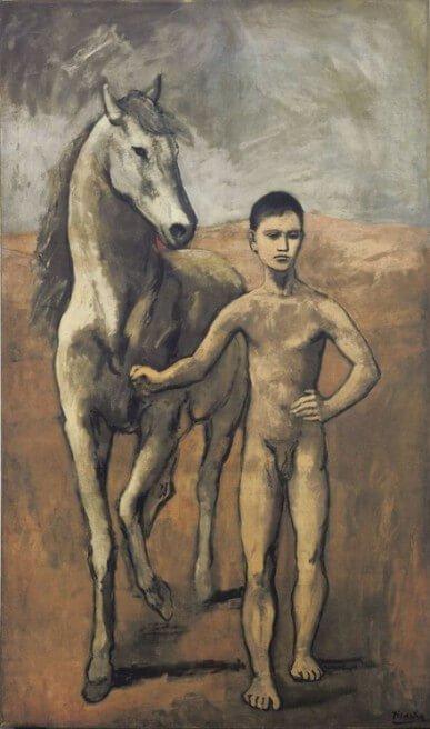 Picasso, Niño con caballo, 1905/1906.