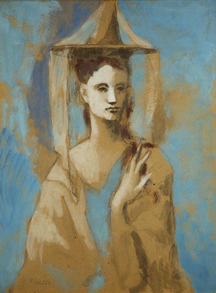 Época Rosa Picasso,Mujer de Mallorca, 1905.
