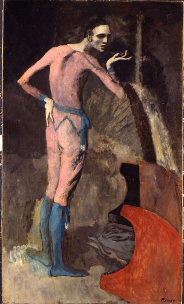 Picasso, El actor, 1904
