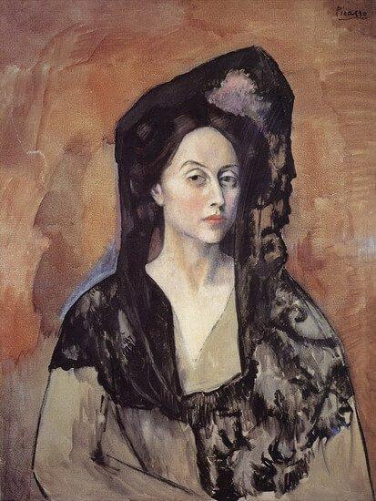 Época Rosa Picasso, Retrato de la señora Canals, 1905.