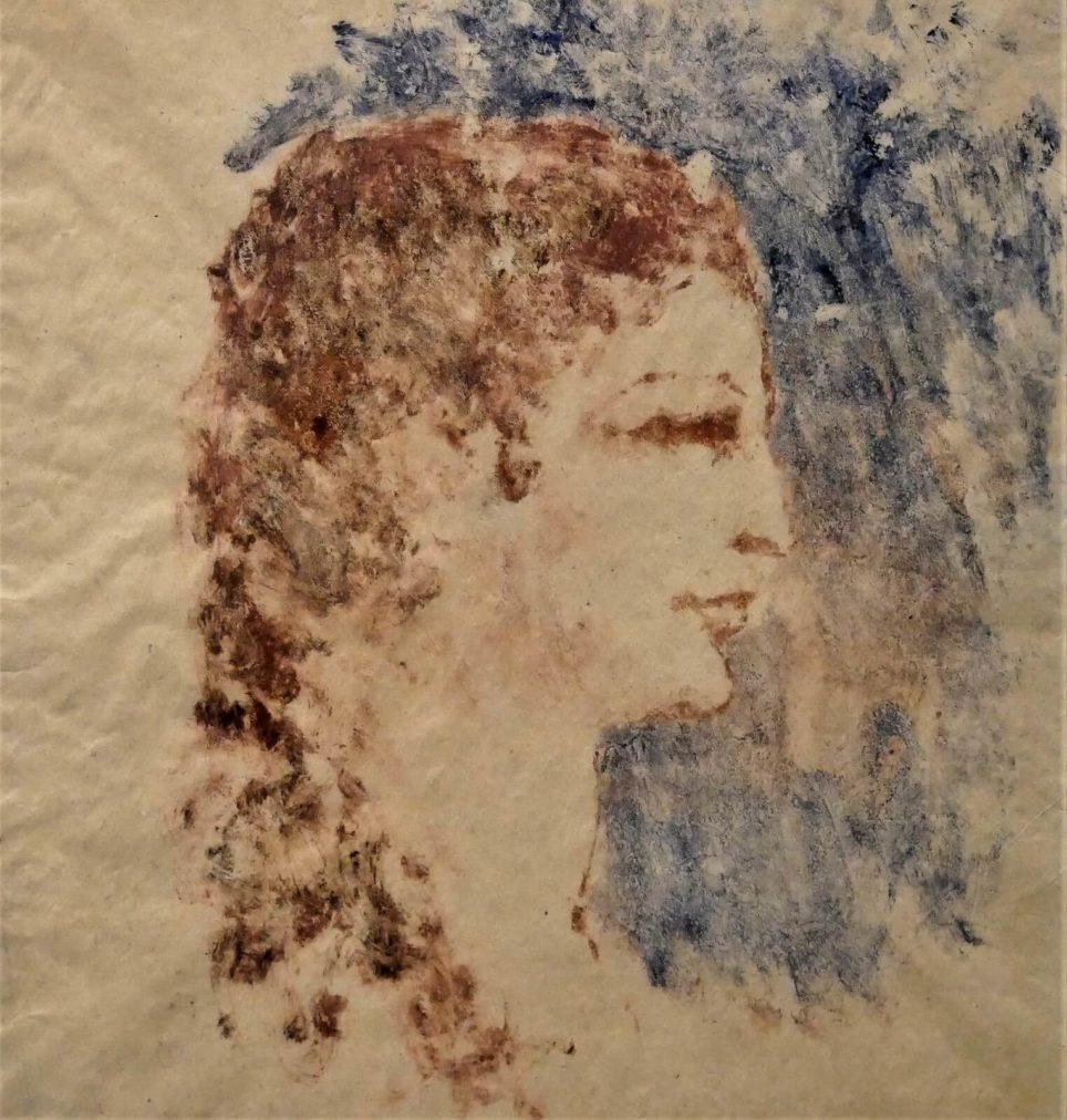 Época Rosa Periodo Rosa de Picasso, Retrato de Fernande, 1906.