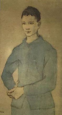 Época Rosa Picasso, Joven azul, 1905.