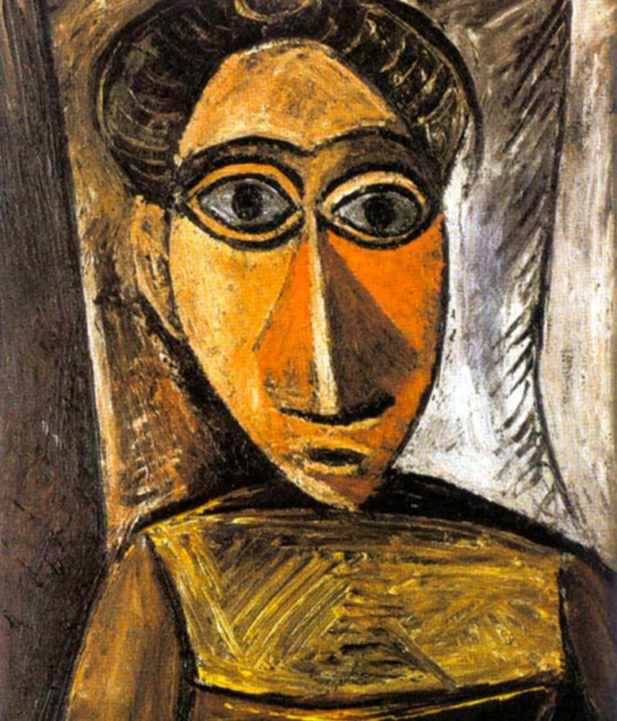 Picasso, Busto de mujer, 1907.