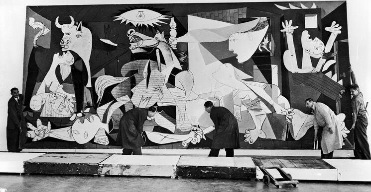 El cuadro Guernica de Picasso 11