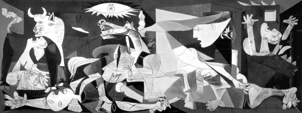 """El """"Guernica"""" de Picasso, 1937"""